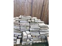 Cottage stone walling