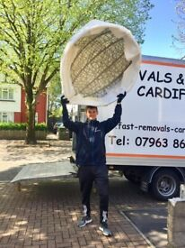 removals cardiff and uk man and a van deliveries