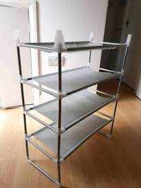 Shoe rack shelve storage