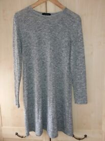Long sleeved gray Primark dress/tunic dress