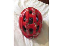 Boys bike helmets used once like new