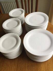 24 Dinner Plates 47 side plates for sale separately or as required