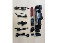 Canon XM2 MiniDV Camcorder, Bag, and Accessories
