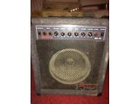 Crackly old amp