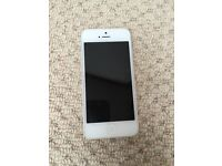 Apple iPhone 5 16gb Silver & White - Unlocked (Purchased from apple)