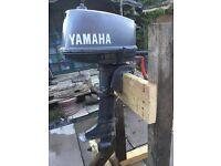 5 hp short shaft 2 stroke yamaha
