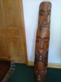 Solid Wood African Carving