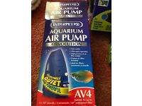 Interpet Aquarium Air Pump Airvolution