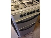 Silver Gas cooker 50cm..Cheap free Delivery