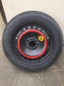 Space saver spare wheel 125/85R16