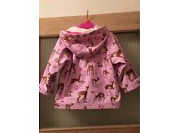 Girls Hatleys Waterproof Jacket