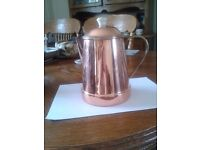 """marks & spensers collection """"harvest"""" copper -coffee pot"""