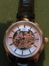 Gents rotary automatic wrist watch