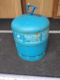 Gas bottle for caravan/campervan
