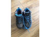 Karrimor Kids walking boots - water resistant - Size 2