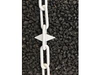 6mm plasic chain with spikes