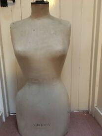 Vintage Stockman Tailors dummy,