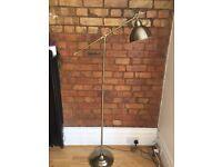 Retro style bronze lamp