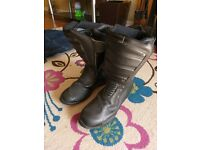 Falco water proof motorcycle boots size 41
