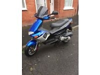 2stroke Gilera runner 180 registered as a 125