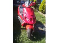 malaguti phantom f12 70cc low mileage same engine as aerox