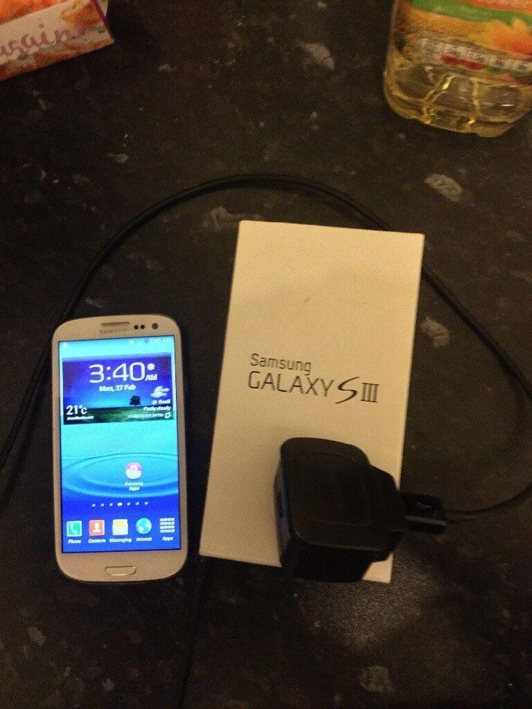 Samsung galaxy S3 mobile phone unlocked