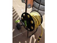 Karcher 30m hose and trolley