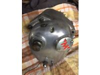AMC/Matchless gearbox, impressed M 21106. 1956+, good condition