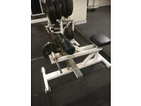 Seated calf machine commercial use