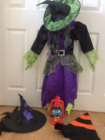 Halloween outfit with scary lantern, scary CD and two spare hats!