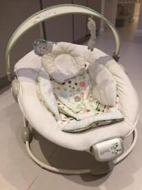 Comfort and Harmony Baby Bouncer with sound and vibrations