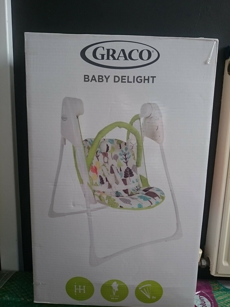 Graco Bear Trail Baby Delight Swing BRAND NEW SEALED