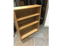 2 free book cases