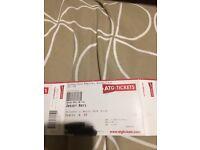 Jersey boy tickets x2