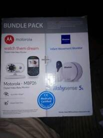 Baby monitor and sensor pad bundle