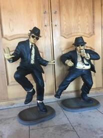 Blues brother statues