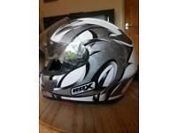 Box helmet and gloves helmet XL gloves L