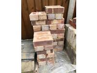 "50 Handmade Bricks - ""Pre-war commons"""