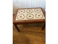 G-Plan Retro tile top table size L 71 cm D 50 cm H 40 cm Good vintage table