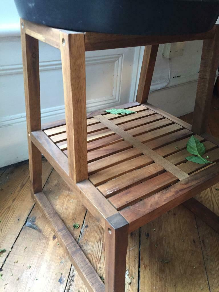 Groovy Ikea Wooden Step Stool In Hackney London Gumtree Beatyapartments Chair Design Images Beatyapartmentscom