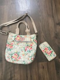 Matching Cath Kidston Bag And Purse