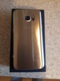 Samsung s7 gold unlocked. No offers!