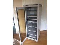 Electrical cabinet storage filling with wheels