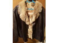Leather Wolf Jacket