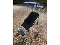 Child Stroller / Buggy with sun shade and rain canopy, Fort William