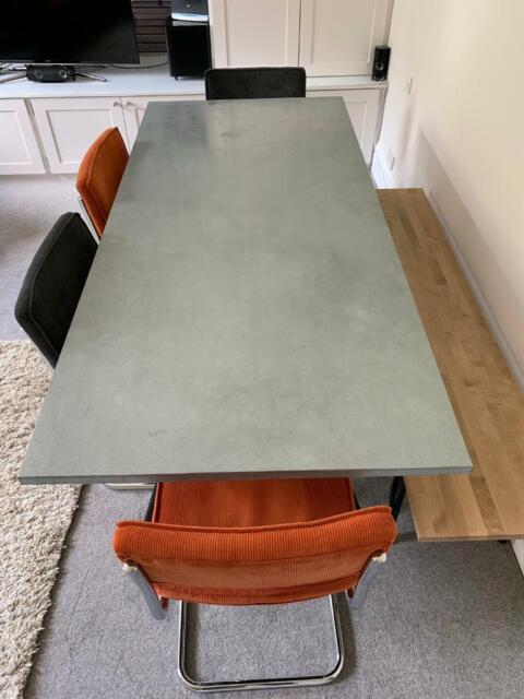 Astonishing Dining Table From Habitat Plus Bench Plus 4 Chairs In Camden London Gumtree Machost Co Dining Chair Design Ideas Machostcouk