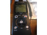Olympus DM-670 Digital Voice Recorder (black). Private Sale: £130. As New!