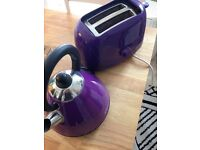 Toaster & matching kettle