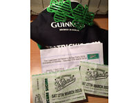 St Patricks Legendary night at Dundee University open until 3.30am (inc hat) - ! or 2 tickets asap