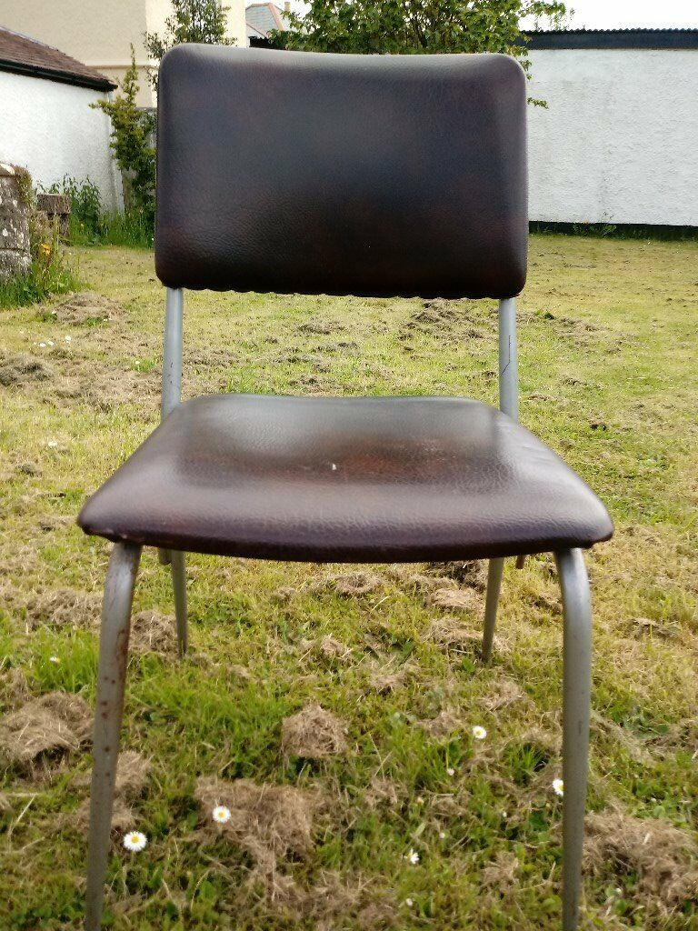 12 brown stacking chairs taunton